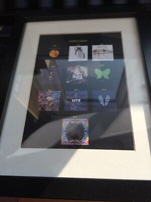 Coldplay Souvenir Framed Album Covers