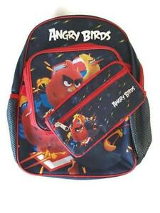 Angry Birds Econo 3pc Kit Kids 15 Inch Backpack Lunch bag & Pencil Case