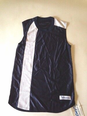 Intensity for Women Sleeveless Wave Sports Jersey Size Small Navy Blue -