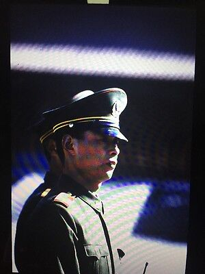 Lot Travel Mongolia People Sun Sentinel News Military Soldier 35Mm Slide  11