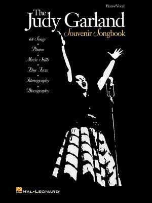The Judy Garland Souvenir Songbook Sheet Music Piano Vocal Guitar NEW 000312157