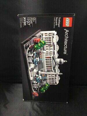 Authentic Lego Architecture 21045 Trafalgar Square 1197 Pieces NEW