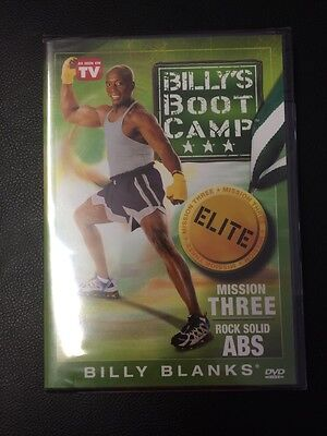 Billys Boot Camp Elite Rock Solid Abs Mission Three Dvd