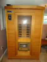 2 person Infrared Sauna - barely used