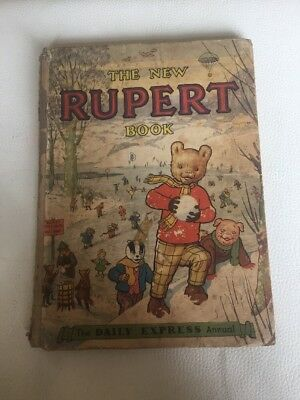 The New Rupert Annual Vintage Book