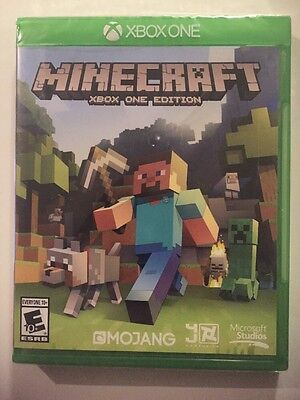 Minecraft    Xbox One Edition  Xbox One   Xbox One X Sealed Fast Free Ship