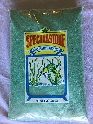 Green Sand 5 Pound Spectrastone Ocean Beach Pebble Natural Aquarium Gravel