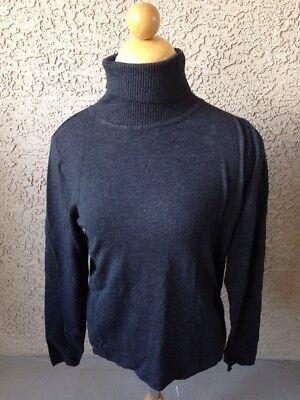 Philosophy Women's Gray Long Sleeve Turtleneck Sweater Size Small New