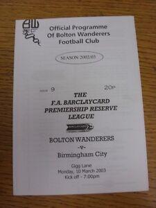 05-02-1997-Bolton-Wanderers-Reserves-v-Birmingham-City-Reserves-At-Burnden-Park