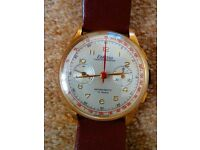 Exactus 18k Gold Watch (chronograph) - PRICE REDUCTION - BARGAIN!