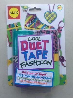 Alex Toys 760B Cool Duct Tape Fashion Kit NEW ()