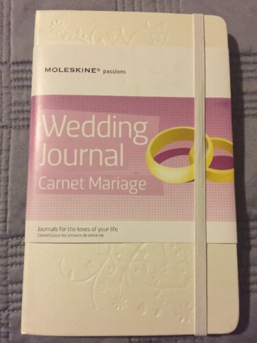 passions journal wedding leather planner hardcover new