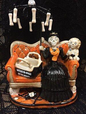 Yankee Candle 2016 BONEY BUNCH Scary Poppins Halloween Tart Warmer Burner
