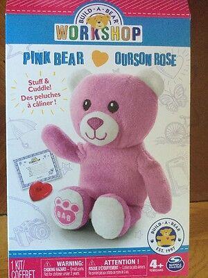 Build A Bear Workshop Pink Bear