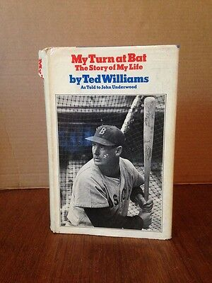 My Turn At Bat The Story Of My Life By Ted Williams