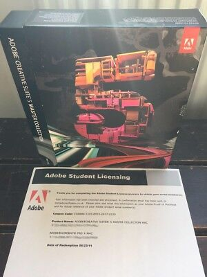 ADOBE Creative Suite CS5 MASTER COLLECTION For Windows - Inc Photoshop etc