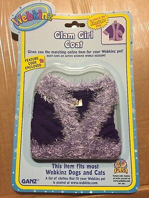 Girl Clothes Online (Webkinz Clothing Glam Girl Coat With Online Code From Ganz)