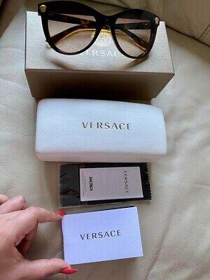 Authentic Versace womens Sunglasses Cat Eye in Original Case Box