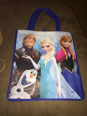 Elsa Halloween Treat Bag (Disney Frozen Reusable olaf anna elsa gift Tote Bag Trick or Treat)