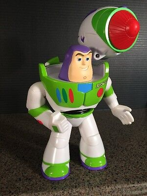 """Rare Toy Story 10"""" Buzz Lightyear w/ Missile/Large Dart Launcher"""