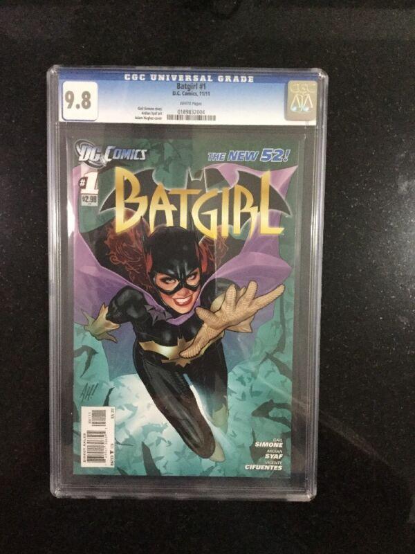 BATGIRL # 1 / The new 52! / CGC 9.8 / November 2011 / DC COMICS