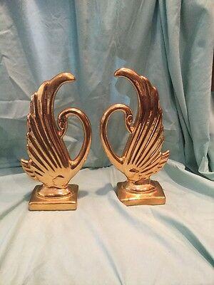 Vintage Mid Century Art Deco Swans. PRICE LOWERED!!