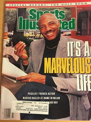 Marvelous Marvin Hagler, Sports Illustrated, July 2, 1990, It's A Marvelous Life