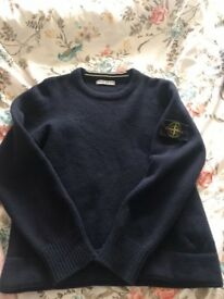 Stone island jumper small genuine