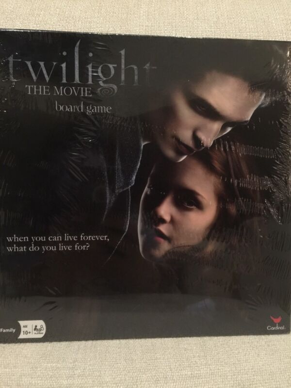 Twilight The Movie Board Game 2009 Collectible Family Books Sealed New Box $60