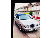 Mercedes clk 4.30amg 290bhp HPI clear quick sale or px swap welcome