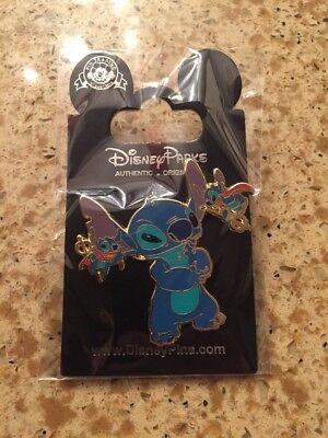 Stitch Disney Good & Evil Pin. FREE LANYARD US SELLER! U PICK B OY OR GIRL