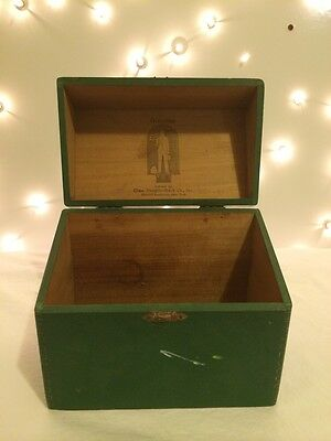 Silverstrype Tailor Suit Douglis-Mack Co. Broadway New York Antique Box Recipe