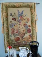 Hanging Tapestry - complete with Tassels and Hardware