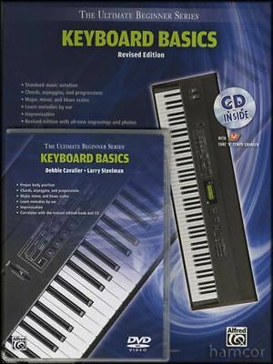 Keyboard Basics Revised Edition Music Book/DVD/CD Ultimate Beginner Series Alfred Ultimate Beginner Series Keyboard