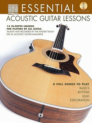 Essential Acoustic Guitar Lessons - 14 In-Depth Lessons for Players -