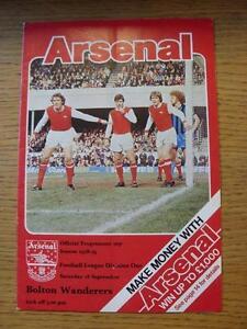 16-09-1978-Arsenal-v-Bolton-Wanderers-Folded
