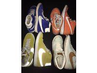 4 x Nike blazers