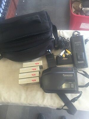 Panasonic PV-IQ203D Video VHS Recorder Bundle Untested ()