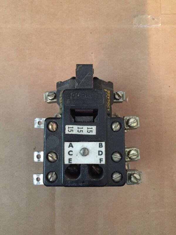 SQUARE D 8501 D042 8501-DO42 AC CONTROL RELAY