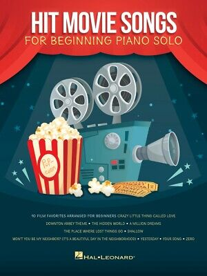 Top Hits for Piano Solo Sheet Music 20 Great Songs Piano Solo Songbook 000294635