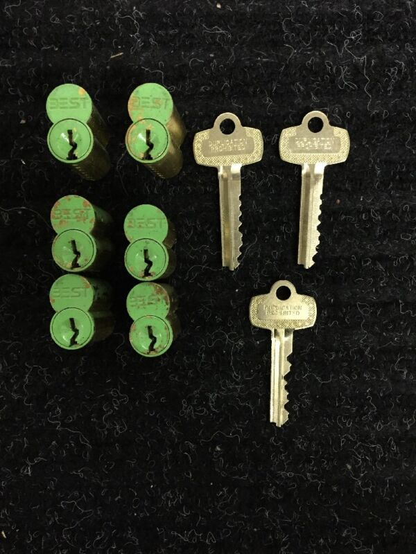 Best SFIC GREEN Construction Cores & Keys