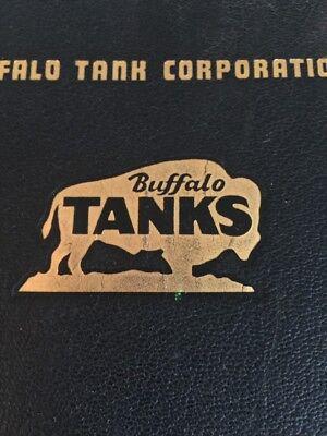 Buffalo Tank Corporation First Edition Handbook Beer Tanks  Steampunk