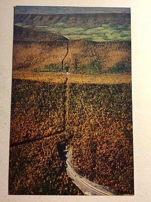 Post Card Pennsylvania Turnpike Highway Allegheny Mountains Unposted