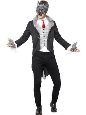 Big Bad Wolf Costume, Deluxe, Large, Halloween Fancy Dress, - Deluxe Big Bad Wolf Kostüm