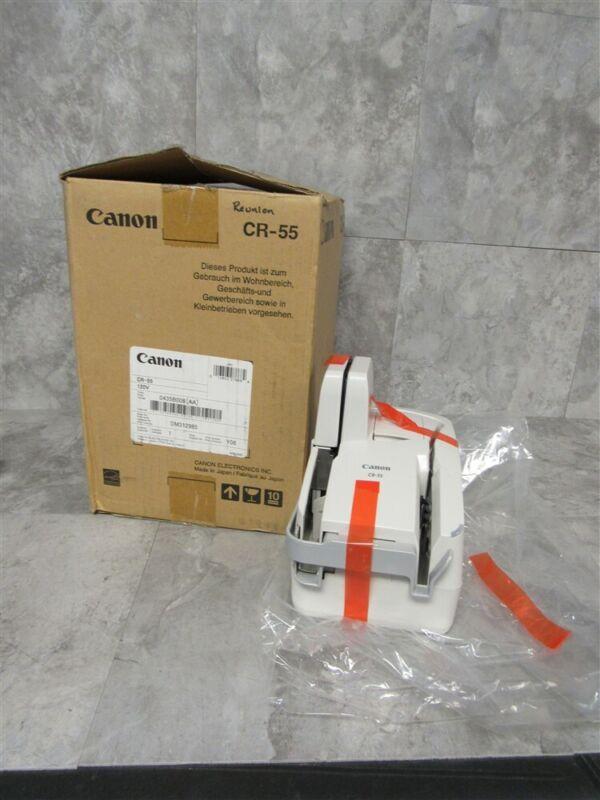 NEW in box Canon imageFORMULA CR-55 Check Scanner!