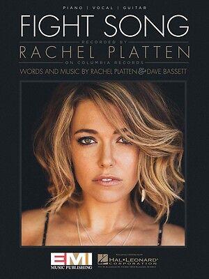 Fight Song Sheet Music Piano Vocal Rachel Platten NEW 000149032