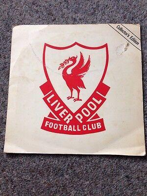 Liverpool Football Club Collectors Edition 1980 Gold Flexi  Ps Lfc Bbc Fa Cup
