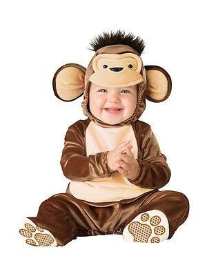 Mischievous Monkey Animal Baby Infant Costume](Monkey Baby Costume)