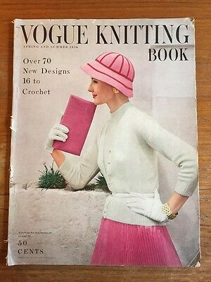 Винтажные Vintage Knitting Book: Vogue Spring/Summer