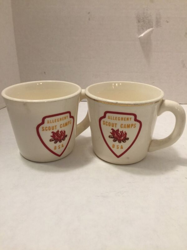 Boy Scout Of America Allegheny Scout Camps  Mug Cup  USA